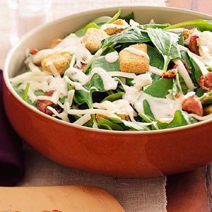 Swiss Spinach Salad