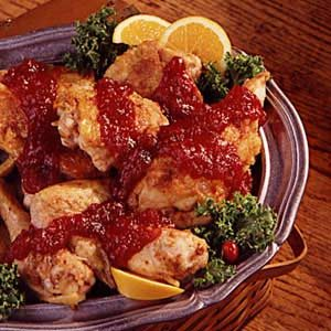 Cranberry/Orange Chicken Recipe