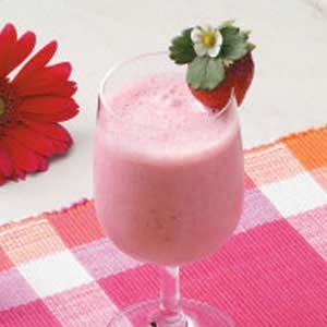 Strawberry Breakfast Shakes Recipe