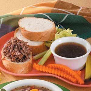 Pressure Cooker French Dip Sandwiches Recipe