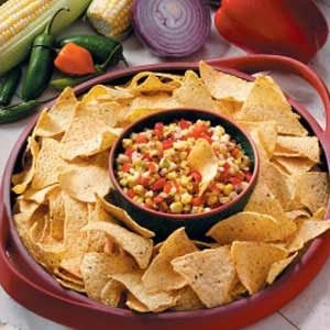 Grilled Corn Salsa Recipe