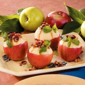 Berry-Stuffed Apples Recipe