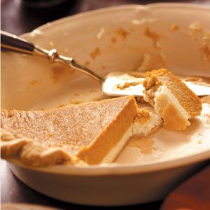 Pumpkin Cream Cheese Pie Recipe