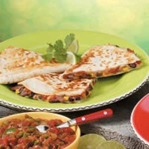 Bean 'N' Beef Quesadillas Recipe