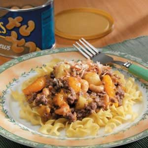 Tropical Beef and Noodles Recipe