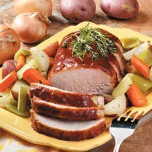 Pork Roast Supper Recipe