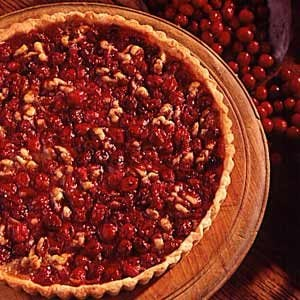 Cranberry Walnut Tart Recipe