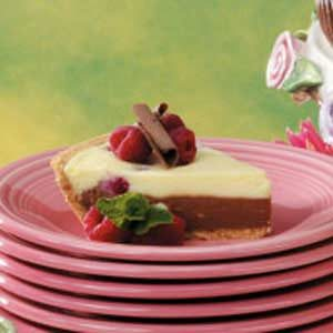 Two-Tone Cheesecake Pie Recipe