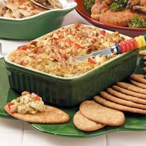 Warm Asparagus-Crab Spread Recipe