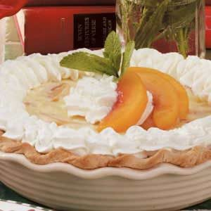 Peach Parfait Pie Recipe