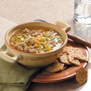 Turkey Bean Soup Recipe