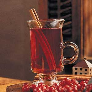 Spicy Cranberry Warmer Recipe