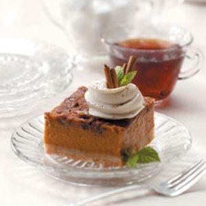 Streusel Squash Dessert Recipe