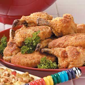 Breaded Chicken Wings Recipe
