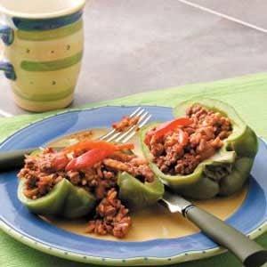 Cuban-Style Stuffed Peppers Recipe