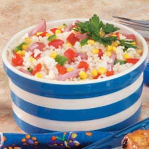 Ham And Rice Medley Recipe