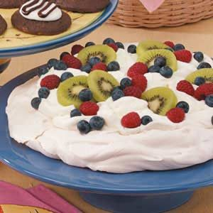 Pavlova with Fresh Fruit Recipe