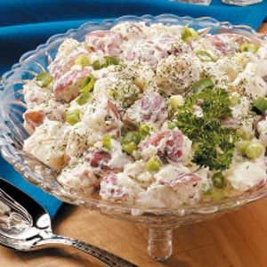 Potato Salad with Cucumbers Recipe
