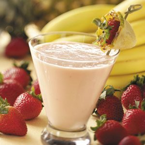 Blended Fruit Chiller Recipe