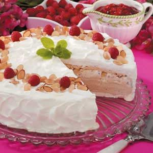 Meringue Ice Cream Torte Recipe