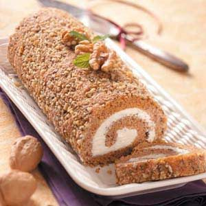 Butternut Squash Cake Roll Recipe
