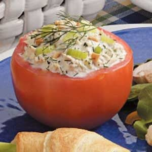 Quick Tuna-Stuffed Tomatoes Recipe