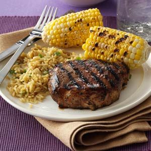 Favorite Grilled Pork Chops