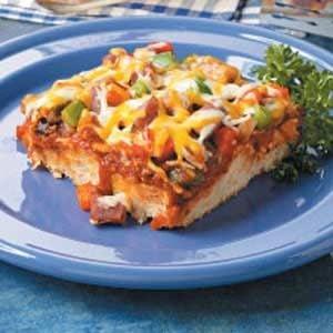 Kielbasa Biscuit Pizza Recipe