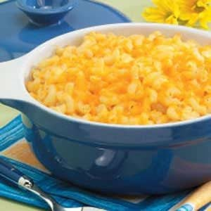 Triple-Cheese Macaroni Recipe