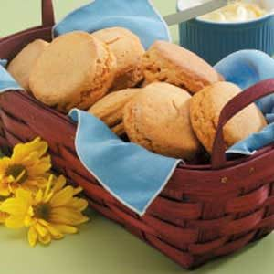 Tender Sweet Potato Biscuits Recipe