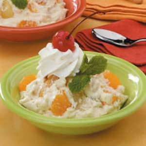 Creamy Fruit Delight Recipe