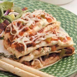 Petite Lasagna Recipe
