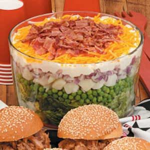 7-10 Split Layered Salad Recipe