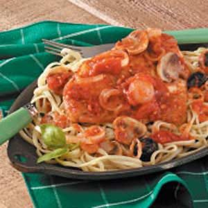 Chicken Cacciatore for Four