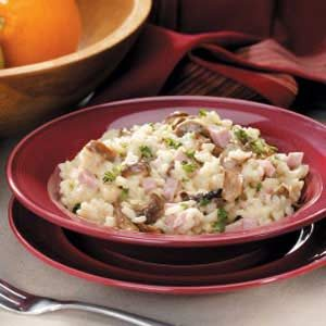 Porcini Ham Risotto Recipe