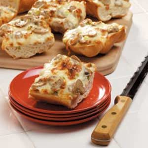 Mushroom Cheese Bread Recipe