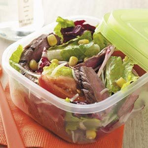 Grilled Steak Tossed Salad