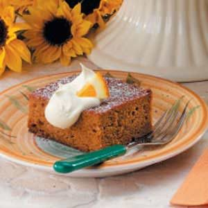 Ginger Pumpkin Cake Recipe