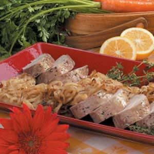 Caramelized-Onion Pork Recipe