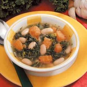 Sweet Potato Kale Soup Recipe