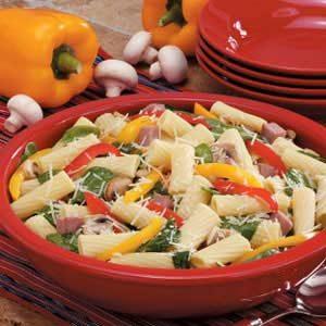 Rigatoni Florentine Recipe