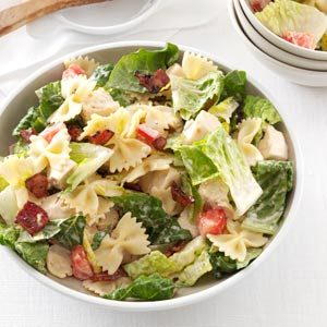BLT Bow Tie Pasta Salad Recipe
