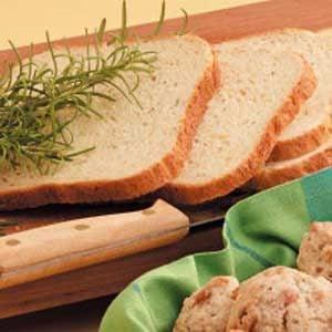 Rosemary Cheddar Bread Recipe