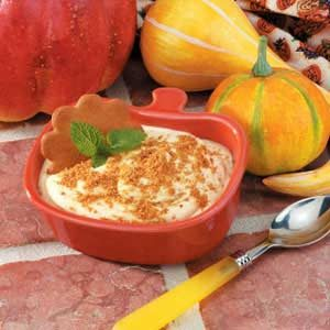 Gingersnap Pumpkin Pudding