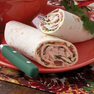Veggie Chicken Wraps Recipe