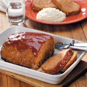 Turkey and Vegetable Meat Loaf Recipe