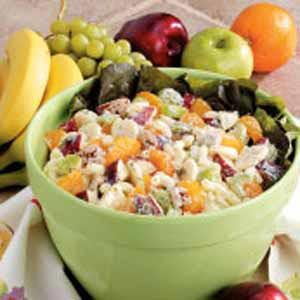 Summer Fruit 'n' Pasta Salad Recipe