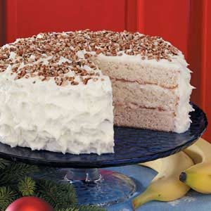 White Chocolate Banana Cake Recipe