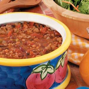 Four Bean Turkey Chili Recipe