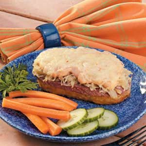 Hash Brown Reubens Recipe